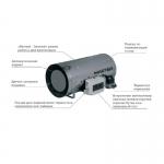 Подвесной нагреватель для промышленных помещений.