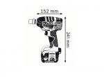 Первый импульсный гайковерт 14,4 В с гибкой аккумуляторной системой