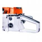 Автоматическая подача масла для смазки цепи и пильная шина длинной в 500 мм