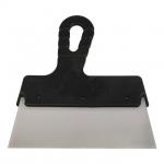 Шпатель KT-2450 INTERTOOL изготовлен из нержавеющей стали, имеет прямоугольное полотно без зубьев шириной 450 мм. Эргономичная пластиковая рукоятка обеспечивает надежный захват. Предназначен для нанесения шпаклевочных и штукатурных составов при проведении внутренних и наружных малярных работ и отделки фасадов, позволяет обрабатывать большие по площади поверхности. Обеспечивает легкость и комфорт в применении.
