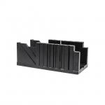 Пластиковое стусло INTERTOOL HT-0726 поможет качественно выполнить работы по распилу деревянных заготовок под определенным углом.Стусло представляет собой изделие П-образной формы, выполненное из ABS-пластика. На его боковых стенках имеются узкие сквозные пропилы под углами 45 и 90 градусов, относительно линии, вдоль которой располагается заготовка. Благодаря этому можно получать точные и аккуратные пропилы в поперечном, продольном и угловом сечении. Такое стусло пригодится при распиливании багета, тонких...