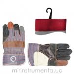 Перчатки INTERTOOL SP-0004 изготовлены из качественной кожи с тканевыми вставками, предназначены для выполнения строительных и бытовых работ. Благодаря удобному крою не сковывают движений пальцев. Использование качественных материалов надежно защищает руки от механических повреждений и загрязнений.