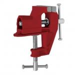 Тиски мини 40 мм INTERTOOL HT-0055 — незаменимый инструмент в гараже, мастерской или на производстве. Также мини-тиски не помешают и дома. Станут просто незаменимым инструментом для ручной деликатной обработки небольших деталей. Тиски изготовлены из качественного чугуна.