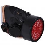 Респиратор INTERTOOL SP-0027 предназначен для индивидуальной защиты органов дыхания человека от пыли и мелкодисперсного сора при их концентрации в воздухе не более 200 мг/м3. Респиратор можно использовать во всех климатических зонах при температуре от —20°С до +50°С. SP-0027 состоит из полумаски из ABS-пластика, трикотажного обтюратора, клапанов вдоха и выдоха, сменного фильтрующе-поглощающего патрона, содержащего специализированный поглотитель и противоаэрозольные фильтры.