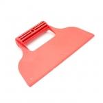 Шпатели — приспособления, которые позволяют в значительной мере упростить ручной труд. Пластиковые шпатели, в первую очередь применяются для нанесения клея при поклейке обоев и растворов при укладке плитки. Также шпателем удобно наносить герметики и затирать межстыковые швы. Особенности Многофункционален; Прост и максимально доступен по цене; Оснащен удобной рифленой рукояткой;