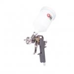 Краскопульт пневматический INTERTOOL PT-0204 — хороший выбор для несложных покрасочных работ. Покрасочный пистолет сконструирован по технологии НР (High Pressure), что подразумевает, использование высокого давления с относительно низким расходом воздуха. Так, при рабочем давлении до 5 Атм на входе и диаметре форсунки 1,5 мм, его расход воздуха колеблется между 130 и 190 л/мин. Он отлично справится с бытовыми покрасочными задачами и может применяться с большинством видов ЛКМ. Несложная конструкция...