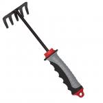 Грабли садовые 245*118 мм с комбинированной рукояткой ТМ INTERTOOL FT-0022 предназначены для садовых работ, где не требуется большая силовая нагрузка на инструмент. Грабли изготовлены из металла, где специальное покрытие исключает налипание земли на поверхность. А комбинированная рукоятка из пластикаудобно ложится в руку.