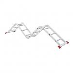 Лестница INTERTOOL LT-0030 изготовлена из высокопрочного экструдированного алюминиевого профиля. Это обеспечивает высокую жесткость конструкции, а также способность выдержать нагрузку до 150 кг. Во избежание скольжения, лестницы укомплектованы надежными эластичными пластиковыми подошвами. Лестницы имеют прочные рифленые ступени, которые не дадут ноге соскользнуть. В основе функциональности лестницы лежит шарнирный механизм, с помощью которого вы с легкостью сможете установить лестницу в нужном вам...