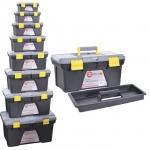 Комплект ящиков для инструментов ТМ INTERTOOL BX-0308 состоит из 8 единиц: - ВХ-0310 размером 10