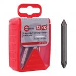 Универсальный набор комплектов двусторонних насадок INTERTOOL VT-5786 поставляется в стильной и прочной пластиковой упаковке с прорезиненными вставками. Комплект из 10 ед. отверточных насадок имеет размер шестигранника 1/4