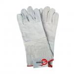 Перчатки INTERTOOL SP-0009 изготовлены из качественной замши белого цвета и предназначены для выполнения строительных и бытовых работ. Замша — спилок класса А/В, толщиной 1,1 мм. Мягкость материала не сковывает движений пальцев. Надежно защищают руки от механических повреждений и загрязнений. Удлиненная манжета обеспечивает защиту руки до середины предплечья. Особенности Натуральная замша — спилок класса А/В, толщиной 1,1 мм; Устойчивы к истиранию; Сшивная ладонь; Подкладка на ладони; Не сковывают движений пальцев;