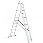 Универсальная алюминиевая 3-х секционная раскладная лестницаINTERTOOL LT-0311 незаменима как в строительстве так и в быту. Лестница LT-0311 изготовлена из высококачественного экструдированного алюминиевого профиля, соответствует европейскому стандарту EN131. При весе 16,9 кг выдерживает нагрузку до 150 кг. Каждая из 3-х секций оснащена 11 рифлеными ступенями шириной 280 мм. Высота в разложенном виде 7327 мм, в сложенном 3141 мм. Противоскользящие опорные заглушки обеспечивают надежное сцепление с опорной...
