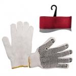 Перчатки х/б INTERTOOL SP-0005 трикотажные белого цвета. На ладони нанесено ПВХ-покрытие темно-серого цвета, обеспечивающее защиту рук и надёжный захват предметов. С эластичными манжетами, которые мягко прилегают к кисти и предотвращают попадание бытового и строительного мусора внутрь перчаток. Благодаря х/б основе обеспечивается свободный воздухообмен. Предназначены для выполнения строительных и сельскохозяйственных работ, ручных механосборочных работ.