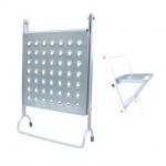 В ассортименте TM INTERTOOL представлено большое количество аксессуаров для лестниц - дополнительных приспособлений, которые помогают в работе. Съемная ступень-полка LT-6000 изготовлена из высококачественной стали, имеет стойкое покрытие и нескользящую поверхность, выдерживает нагрузку до 150 кг. Надежно фиксируется на ступенях лестницы, обеспечивая опору или служит полкой для размещения строительных материалов и инструментов, это дополнительная функциональность вашей лестницы. Особенности Материал — сталь; Перфорированная нескользящая поверхность; Качественное стойкое покрытие; Выдерживает нагрузку до 150 кг;