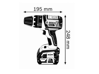 Самый короткий 18 В выносливый инструмент с функцией ударного сверления