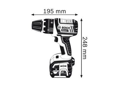 Самый короткий 14,4 В выносливый инструмент с функцией ударного сверления