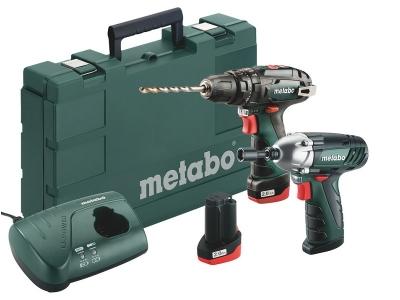 Набор поставляется в чемодане для инструментов Metabo