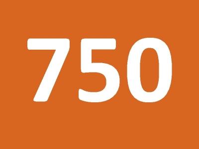 Сертификат номиналом 750 грн