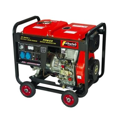 Дизельгенератор 5 кВт с электростартером.