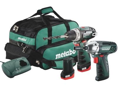 Набор поставляется с сумкой для инструментов Metabo
