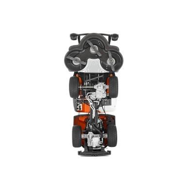 Универсальный и мощный райдер с двухцилиндровым двигателем и полным приводом.