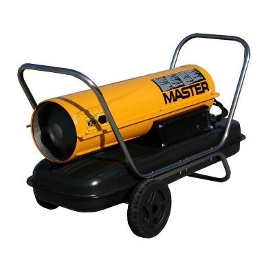 Работает на двух типах топлива: дизель или керосин.