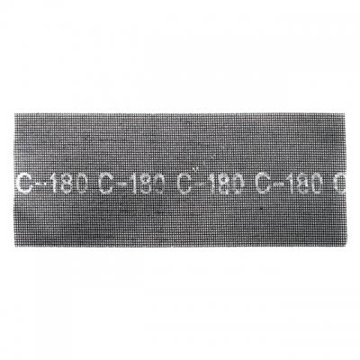 Абразивная сетка 105*280 мм, SiC К180 ТМ INTERTOOLKT-601850предназначена для работы с ручной шлифовкой вместе с гипсовым бруском или со специальными шлифмашинками. Используется для зачистки и матовки больших объемов окрашенных либо загрунтованных поверхностей. Абразивный материал нанесен с обеих сторон, что продлевает долговечность сетки. Удобны в использовании, поскольку удаляемые частицы не забивают абразив, а проходят через отверстия сетки. Подходит для удаления особо мелких неровностей поверхностей. Сфера применения: металл, цветные сплавы, пластик, дерево, гипсокартон.
