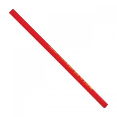 Карандаш столярный KT-5004 INTERTOOL имеет плоско-овальную форму, что позволяет ему не скатываться с рабочих поверхностей. Стержень карандаша имеет серый цвет исодержит специальные добавки, обеспечивающие возможность делать пометки на различных строительных покрытиях и материалах. Корпус надежно защищает стержень при ударах и падениях. В упаковке 12 карандашей с корпусом красного цвета длиной 180 мм.