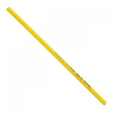 Карандаш KT-5001 INTERTOOL для надписей по стеклу и любой другой гладкой поверхности. Оставляет четкий, сплошной, хорошо заметный след. Стирается с гладких поверхностей. Ярко-желтый корпус надежно защищает пишущий стержень от повреждений при ударах и падениях.Благодаря яркому цвету корпуса, онне сможет затеряться в мастерской. В упаковке 12 карандашей длиной по 240 мм.