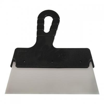 Шпатель KT-2350 INTERTOOL изготовлен из нержавеющей стали, имеет прямоугольное полотно без зубьев шириной 350 мм. Эргономичная пластиковая рукоятка обеспечивает надежный захват. Предназначен для нанесения шпаклевочных и штукатурных составов при проведении внутренних и наружных малярных работ и отделки фасадов, позволяет обрабатывать большие по площади поверхности.
