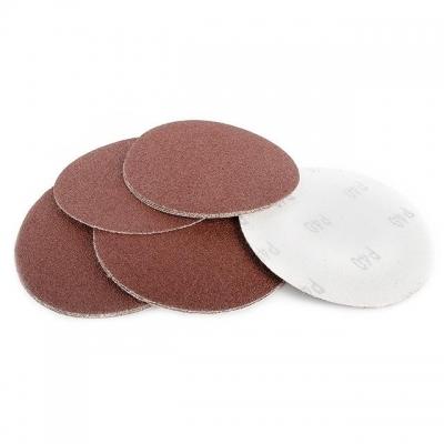 Круг наждачный самоклеющийся ТМ INTERTOOL применяется для работ с УШМ. Используется в кузовной шпатлевке, краске, грунте, пластмассе, дереве или цветных металлах. Круги с зернистостью от 36 до 40 применяются для предварительного шлифования поверхности, от 60 до 80 для чистового шлифования. Их производительность в 3 раза больше, по сравнению с кругами на бумажной основе класса С. Используемые материалы: основа - бумага класса Е, плотность 220 г/кв.м.; шлифовальное зерно - оксид алюминия; соединитель -...
