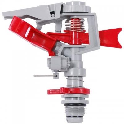 Дождеватель пульсирующий TM INTERTOOL GE-0065 секторно-круговой с полной или частичной зоной полива. Выполнен из прочных пластиковых элементов, обеспечивающих надежность и качество распыления. Сектор и дальность полива регулируются до 12 м. Обеспечивает мощный и густой полив. Просто и надежно соединяется с другими элементами системы полива.