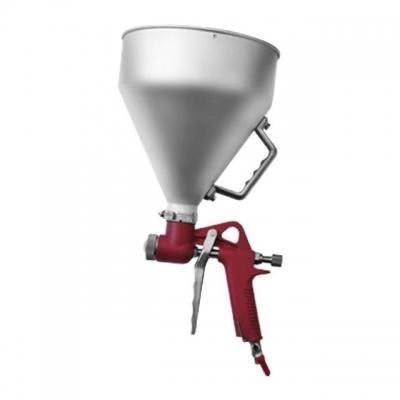 Штукатурный распылитель РТ-0401 используется для нанесения штукатурки, в том числе и декоративной, на самые разнообразные поверхности. Оснащен тремя форсунками с диаметрами 4, 6 и 8 мм. Объем резервуара составляет 6000 мл. Давление на входе достигает отметки шести атмосфер. Определенно, для того чтобы значительно облегчить работу, сэкономить время и добиться того, чтобы декоративный состав лег на поверхность ровным слоем, необходимо купить штукатурный распылитель РТ-0401. Особенности Бачок распылителя...
