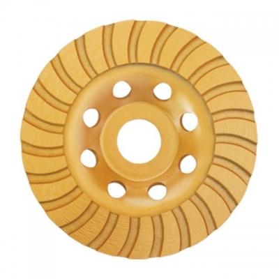 Фреза торцевая шлифовальная алмазная TURBO ТМ INTERTOOL предназначена для работ с УШМ. Алмазная фреза представляет собой металлический корпус с гофрированной поверхностью, на поверхности которой прикреплены алмазные TURBO-сегменты. Позволяет производить как грубую обработку, так и полировочные работы. Состав металла самого диска позволяет выдерживать серьезную силовую нагрузку, а также высокий температурный режим, поэтому фрезы данного класса можно использовать при сухом типе резки. Скорость и качество...