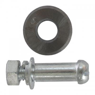 Колесо сменное для плиткореза с осью HT-0348 ТМ INTERTOOL предназначено для замены режущего элемента в плиткорезах. Изготовлено из антикоррозийной стали. Подходит для плиткорезов серий HT-0342 — HT-0347. Особенности Изготовлено из антикоррозийной стали, Ось в комплекте, Для плиткорезов серий HT-0342 — HT-0347.
