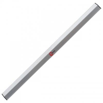 Правило ТМ INTERTOOL MT-2225 имеет трапециевидную форму. Длина – 100 см.Изготовлено из алюминиевого профиля высотой 100 мм. Применяется для внешних и внутренних строительных работ – для выравнивания поверхностей стен и полов небольшой площади. С обоих сторон основания, правило оснащено пластиковыми