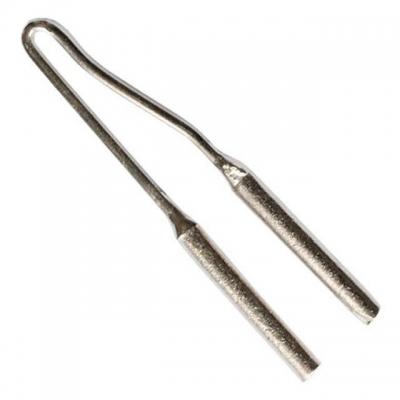 Сменная насадка (жало) RT-2051 предназначена для использования с импульсным паяльником INTERTOOL (RT-2001). Позволяет осуществлять сваривание. В упаковке 500 шт. Насадка выполнена из высококачественной стали, что позволяет сохранять твердость при высокой температуре.
