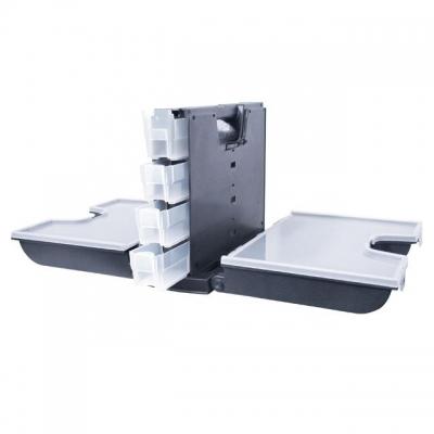 Ящик ТМ INTERTOOL BX-4014 для хранения и транспортировки различных креплений, метизов и прочих предметов. Ящик изготовлен из прочного пластика, надежно запирается на пластиковые замки. Прозрачные органайзеры, позволяют видеть содержимое, не открывая крышку. Вместительный, легкий и удобный, с габаритными размерами равными 360*290*195 мм, 14
