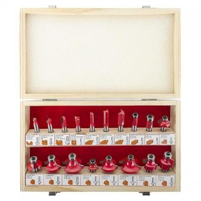 Фрезы представляют собой инструмент с одним или несколькими режущими лезвиями. Фрезы предназначены для фрезерования, выборки пазов разной формы, выполнение шпоночного паза и др. Фрезерование – это процесс механической обработки материала фрезой, которая вращается вокруг своей оси с большой скоростью и имеет либо напаянные (механически установленные), либо выполненные из цельного материала ножи. В наборе HT-0073 представлены несколько видов фрез, которые зачастую бывают необходимы в быту. Многие фрезы, так...