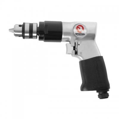 Пневматическая дрель PT-0902 применяется не только для сверления, но и для хонингования. Используется в основном на производстве при проведении монтажно-сборочных работ. Преимущество инструмента — это функция реверса. Скорость вращения – 1800 об/мин при расходе воздуха 170 л/мин. Рабочее давление достигает шести атмосфер. Если вы решите купить пневматическую дрель РТ-0902, то, как результат обязательно получите надежность и высокую производительность при выполнении работ. Преимущества - Удобный...