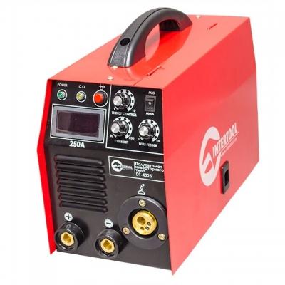 инверторного типа комбинированный 7,1 кВт, 30-250 А., проволока 0,6-1,2 мм., электрод 1,6-5,0 мм