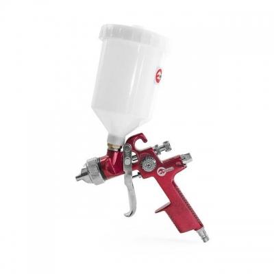 Модель покрасочного пневматического пистолета INTERTOOL PT-0104 — это профессиональный инструмент, который предназначен для работы с различными видами ЛКМ. Он разработан на основе технологии HVLP, что позволяет значительно снизить потери материалов на туманообразование. С помощью данной технологии достигаются высокие показатели (до 75%) переноса ЛКМ на необходимую поверхность. Диаметр форсунки — 1,4 мм. Объем пластикового бачка с верхним расположением составляет 600 мл. Показатель расхода воздуха при...