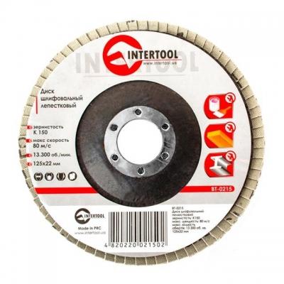 Диск шлифовальный лепестковый торцевой ТМ INTERTOOL подходит для применения с УШМ. Используется в работах по шлифованию и полировке изделий из металла, стали, бетона, сухого дерева, лака/краски. В зависимости от обрабатываемой поверхности и предполагаемого слоя снятия подбирается абразивность зерна диска. Диски с зернистостью от 100 до 150 используют для тонкой финишной обработки поверхностей. Обеспечивает низкий уровень шума. Абразивное зерно: оксид алюминия.