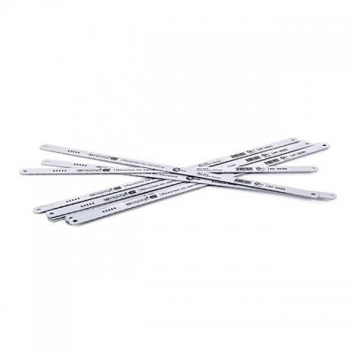 Полотно ножовочное по металлу INTERTOOL HT-3020 размером 300х12,5х0,62 имеет 24 зуба / 1 дюйм и изготовлено из закаленной высокоскоростной стали W3. Полотно HT-3020 предназначено для резки твердых материалов. Особенности Закаленная высокоскоростная сталь W3; Для резки твердых материалов;  Как выбрать ножовку по металлу?