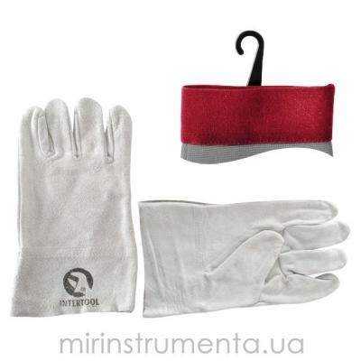 Перчатки INTERTOOL SP-0015 изготовлены из качественной замши и предназначены для выполнения строительных и бытовых работ. Удобный крой не сковывает движения пальцев. Использование качественных материалов надежно защищает руки от механических повреждений и загрязнений.