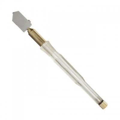 Масляный стеклорез INTERTOOL HT-0522 – новый эффективный инструмент для резки стекла. Являет собой роликовый стеклорез со встроенным в ручку резервуаром для автоматической подачи смазки к режущему ролику через фитиль. Смазка обеспечивает плавное движение стеклореза, позволяя снизить трение ролика и увеличить срок службы инструмента. Предназначен для работы со стеклом толщиной до 20 мм, каждого резца хватает более чем на 5000 п.м. Пригодны для профессионального использования.