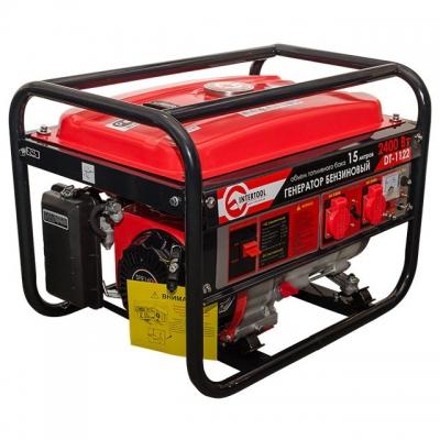 макс мощн. 2,4 кВт., ном. 2,2 кВт., 5,5 л.с., 4-х тактный, ручной пуск 40,7 кг.