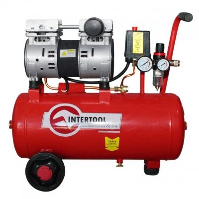 1,5 HP, 1,1 кВт, 220 В, 8 атм, 145 л/мин, малошумный, безмасляный, 2 цилиндра